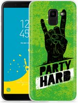Moto E5 Plus hoesje Party Hard 3.0