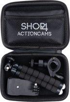 Shop4 - GoPro HERO7 Accessoires Set - Klein met Opbergtas