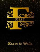 First Learn To Write