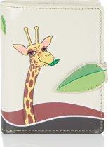 SHAGWEAR portemonnee Giraffe - 0953sm