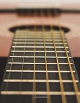 Guitar Music Notebook Guitar Tab Songwriter Journal
