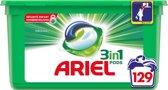 Ariel 3in1 Pods - Wasmiddelcapsules - 129 Wasbeurten