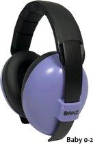 Banz Baby Paars /Lilac  EM-012 gehoorbeschermer (3-36mnd) SNR:21db