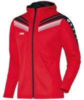 Jako Jacket Pro - Sportjas -  Dames - Maat 38 - 40 - Rood