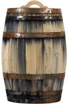 Regenton 150 liter oud gemaakt met handvat