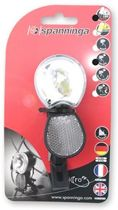 Spanninga Micro-FF - Fietskoplamp - Auto/On/Off - 10 Lux - Led - Zwart