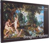 Breughel / Rubens - Het aardse paradijs puzzel 100