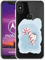Motorola One Hoesje Candy Pinquin