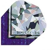 Harrows darts Flight 1102 dimplex 3d blauw 3 stuks
