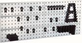 Raaco Gereedschapsborden - 2 stuks - Incl. 28 Super Clips - 104x44 cm - 109642