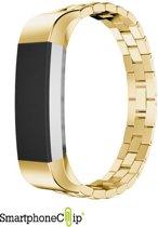 SmartphoneClip Schakel bandje - Fitbit Alta (HR) - goud