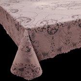 Tafelkleed Vinyl Lace 152x228cm Old Pink
