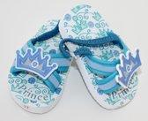 """""""Prince"""" sandalen blauw maat 17 (9-12 maanden)"""