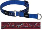 Rogz For Dogs - Scooter Choker Bones On Red