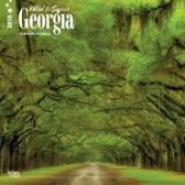 Georgia, Wild & Scenic 2018 Wall Calendar