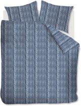 At Home Fold - Dekbedovertrek - Lits-jumeaux - 240x200/220 cm - Blauw