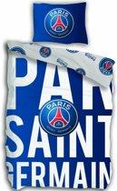 Paris Saint Germain Letters - Dekbedovertrek - Eenpersoons - 140 x 200 cm - Multi