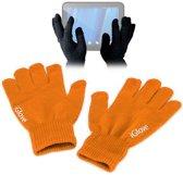 iGlove Touchscreen handschoenen (touch gloves), Oranje