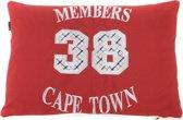 In The Mood Cape Town Sierkussen - Rood - 40x60 cm