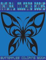 Natural Coloring Butterflies