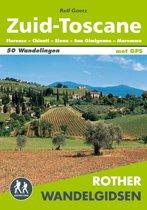 Omslag van 'Rother wandelgidsen zuid-toscane'