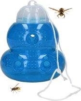 Ecovriendelijke Insecten en Wespenval – Blauw – 17x11 cm | Val Tegen Wespen Bijen Vliegen en Horzels | Wespenvanger Insectenval