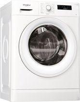 Whirlpool FWF81683WE NL wasmachine Vrijstaand Bovenbelading Wit 8 kg 1600 RPM A+++
