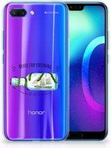 Huawei Honor 10 Uniek TPU Hoesje Boho Bottle