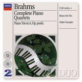Piano Quartets (Complete)/Piano Trio