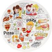 Blond Amsterdam Specials Pizzabord - Ø 31 cm - Aardewerk
