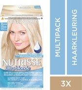 Garnier Nutrisse Haarverf - Ultra Blond D+++ -  3 stuks Voordeelverpakking