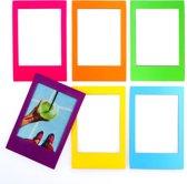 Mustard magnetische fotolijstjes koelkast - Rainbow