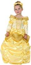 Goudkleurige prinsessen kostuum voor meiden - Verkleedkleding