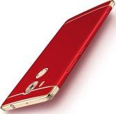 Let op type!! MOFI voor Huawei Mate 8 drie - lid Shield volledige hoes terug beschermkap (rood)