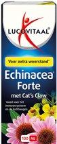 Lucovitaal - Echinacea Cat's Claw Weerstand druppels - 100 ml - Voedingssupplement