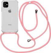 iMoshion Backcover met koord iPhone 11 hoesje - Roze