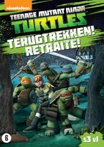 Teenage Mutant Ninja Turtles -  Terugtrekken!