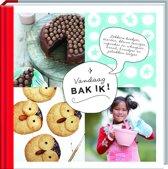 Kookboek Vandaag bak ik - Kinderkookboek - Hardcover - 20 x 20 x 1,5 cm