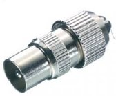 Vivanco Metal Coax Adapter