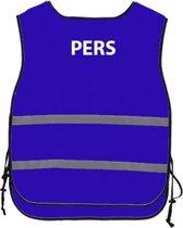 Veiligheidshesje met opdruk - pers - one size