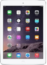 Apple iPad Air - 16GB -  WiFi - Wit/Zilver - inclusief iPad hoes