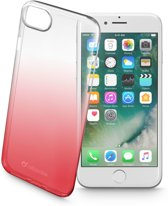 Cellularline Shadow mobiele telefoon behuizingen 11,9 cm (4.7'') Hoes Rood, Transparant