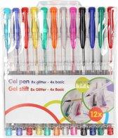 Comfortabel schrijvende pennen, 12 stuks