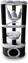 PETREBELS - Krabpaal - Kings & Queens - Catharina 120 - grey/black - 120cm - 16,2 KG