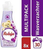 Robijn Purple Sensation Wasverzachter - 240 Wasbeurten - 8 x 750 ml