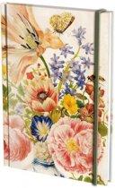Notitieboek A6, harde kaft: Chinese vase, Merian