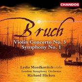 Bruch: Violin Concerto no 3, Symphony no 1 / Hickox, et al
