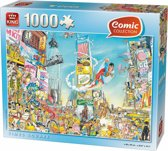 Comic Puzzel King - Time Square NY - 1000 Stukjes - Legpuzzel
