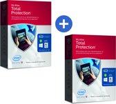 McAfee Total Protection 2016 - Nederlands / Onbeperkt aantal Apparaten / 2 Jaren / Windows / Mac / Android / IOS