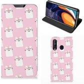 Samsung Galaxy A60 Hoesje maken Sleeping Cats